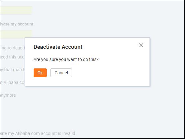 Как удалить аккаунт в алиэкспресс