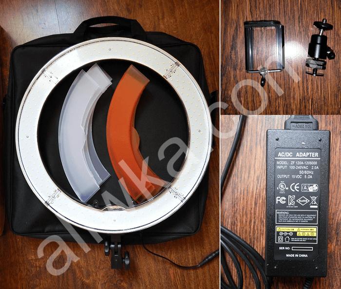 Круглая лампа для визажиста с Алиэкспресс