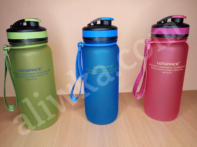 Cпортивная бутылка для воды Uzspace с Алиэкспресс