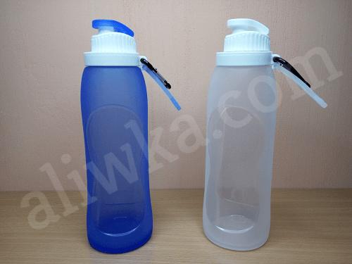 Cиликоновая бутылка с Алиэкспресс – мягкая складная бутылка
