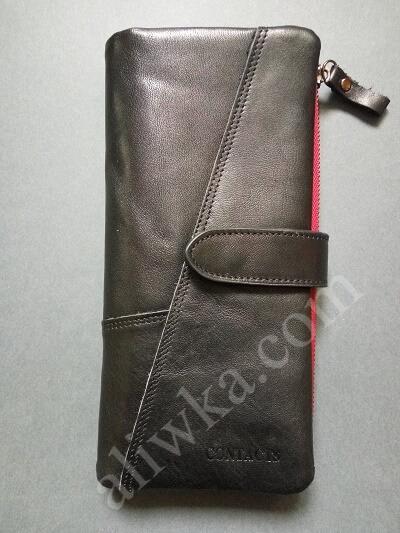 Кожаный бумажник с Алиэкспресс