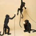 Cветильник обезьяна с лампочкой на Aliexpress
